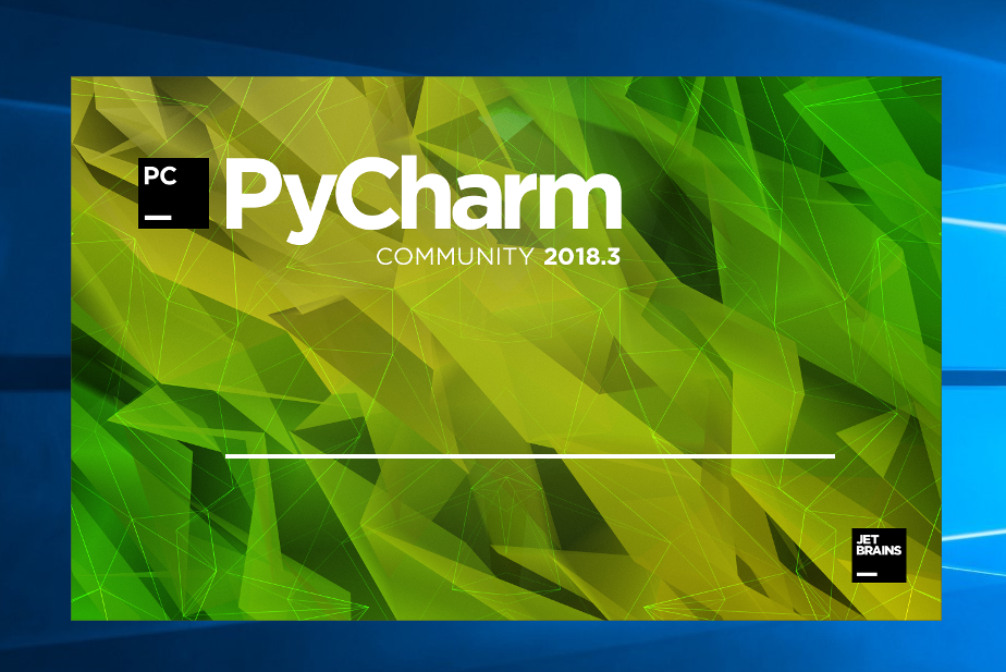 Pycharm Community Edition start