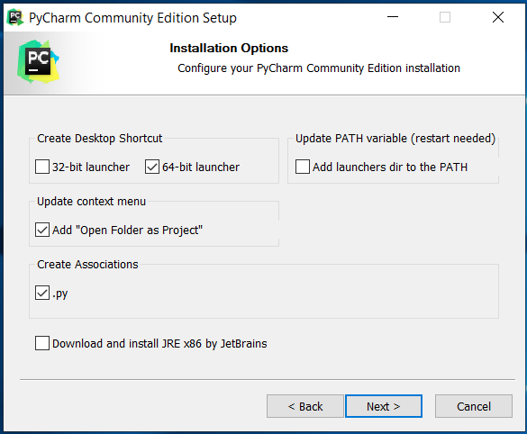 Pycharm Community Edition