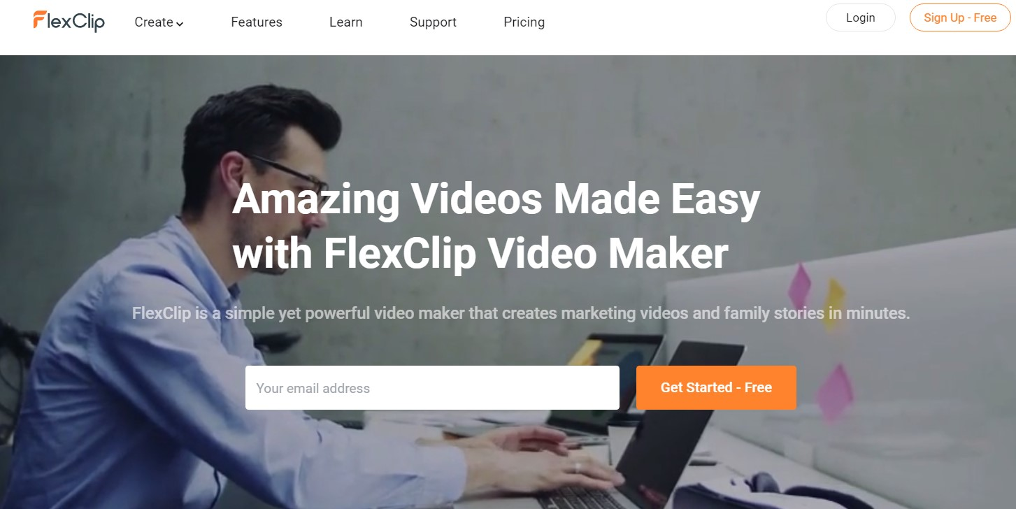 FlexClip for Video Marketing